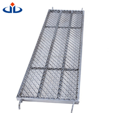 Exquisite Workmanship Scaffolding Catwalk Steel Grating 1.1 - 2.0 Mm Thickness Expanded Metal Catwalk