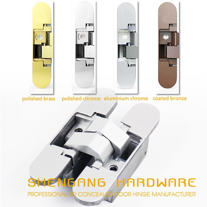 Istar Hinges 3d concealed hinge Zamak hinge Right and left doors applicable