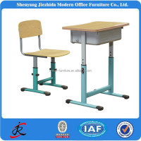 training centre kids students study school height adjustable chair desk