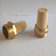 Hot Sell Pneumatic Silencer / HD Type Pneumatic Brass Cusp Or Flat-Top Muffler