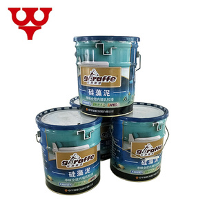Acid resistant spray natural stone effect finish exterior concrete paint coating