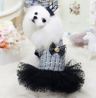 2016 new Fashion dogs party dresses