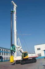 1 Year warranty hydraulic rotary 60m mobile drilling depth rig