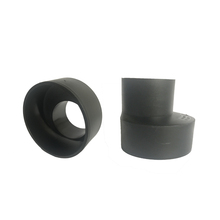 100% hdpe fabricated pipe fitting eccentric reducer made in China