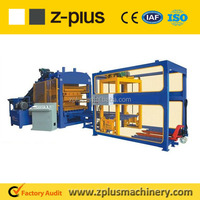 Easy operation mechanical system QTY6-15 concrete block machine price