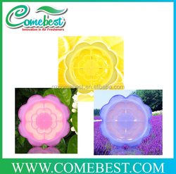 wholesale flower shape aroma gel air freshener for home,office or car