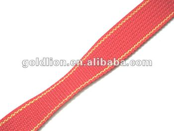 100% polyester high strength variable solid webbing