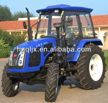 New Farm tractor 90HP 4x4 ,YTO engine, 16F+8R shift gears, AC cabin, radio, front end loader ,backhoe, attachment available.