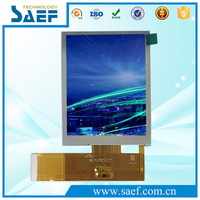 sunlight readable 3.5 inch TFT LCD display RGB interface transflective color lcd Module 640x480 used in car