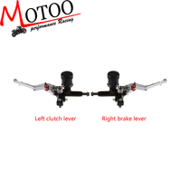 "Motoo - 7/8"" Front Brake Clutch Hydraulic Master Cylinder Lever For 100-600cc Sport /Street /Scooter /Dirt Bike"