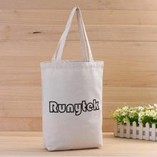 Factory Direct Sell Customized Recycled Cotton Tote Bag With Logo