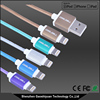 Coolsell Shenzhen Top Quality MFI Certified Strong Nylon Braided MFI USB Cable for Charing 8 PIN Mini USB Cable for Smart Phone