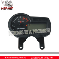 11K RPM kmh/mph Display Motorcycle LCD Digital Odometer Speedometer Tachometer
