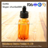 30ml square amber glass bottle with childproof cap 1oz amber glass bottles french square dropper bottle