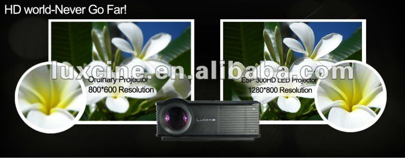 Promotion!!!Luxcine special offer ESP300HD with 30%off price video projector