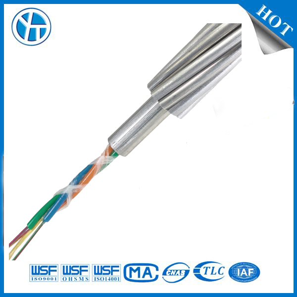 Overhead Ground Wire OPGW Fiber Optic Cable
