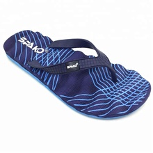 High quality durable 2018 customized design beach slipper eva flip flop