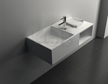 Luxury natural stone hanging sink designer wash basin