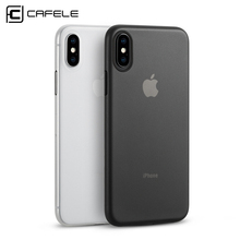 CAFELE Original newest Ultra thin PP Slim Custom Cell Phone Cover for iphones 8 Matte Cheap Bulk mobile phone case for Iphone x