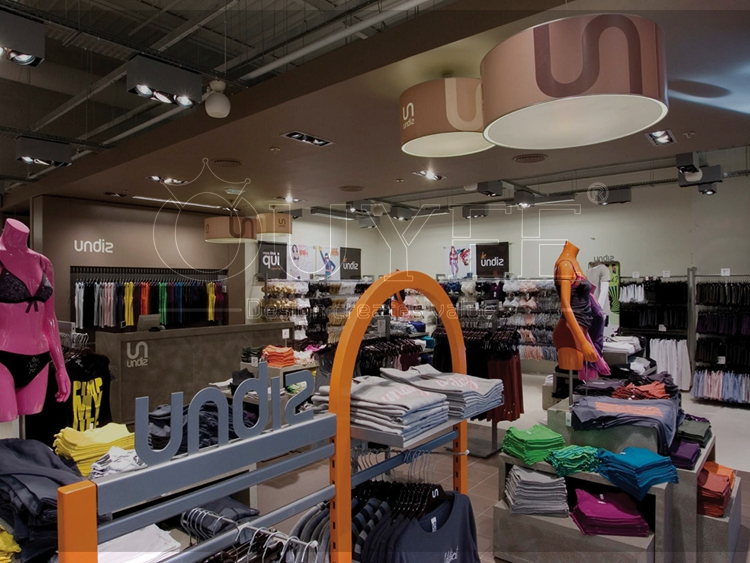 Factory Price Acrylic Showcase Underwear Clothing Store Cloth Shop ...