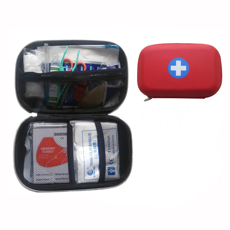 2017 hot sell CE approved medical eva emergency first aid kit for car