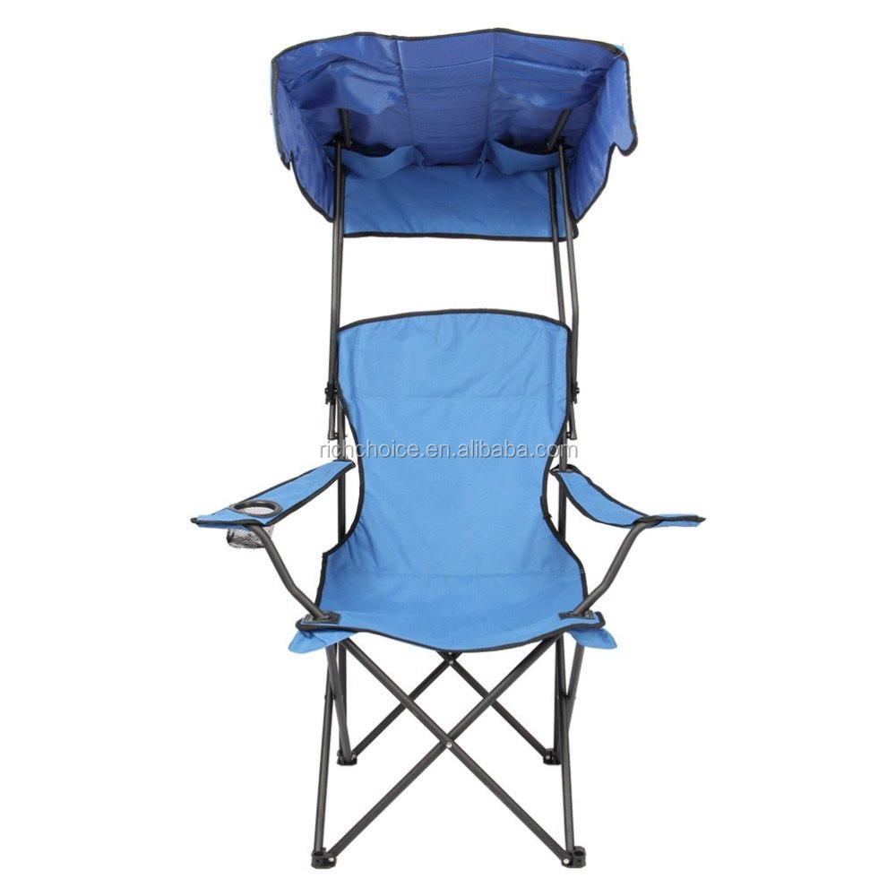 Folding Chair With Shade Canopy Cover Buy Flexible Folding Chair Beach Chai