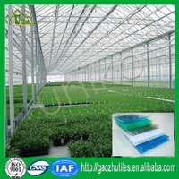 Greenhouse cover opaqu hollow polycarbonate sheet on sale for green house