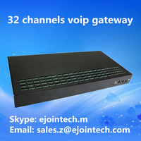 voip 32 ports gsm goip gateway 32 sim cards device with voice and sms functions