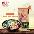 Sliced Wide Noodle 366g Instant Dried Noodles with 6 Sauce Bags 6mm Wide
