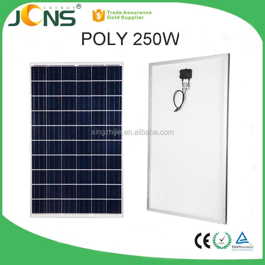 Solar Panels 250W, High Quality 250W Poly Mono Solar Panels , High Performance 250W Solar Panels