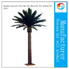 Indoor Or Outdoor Decoration Artificial Simulation Arecaceae Date Palm Man-made Fake Trees