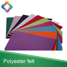Thick Hard Version Needle Punched Polyester Nonwoven Felt Fabric Sheet