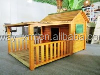cute big size wooden dog house