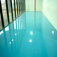 Smooth Surface Water Resistant High Strength Floor Coating