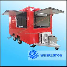 New Customized Outdoor Street Mobile Gas Griddle Food Van