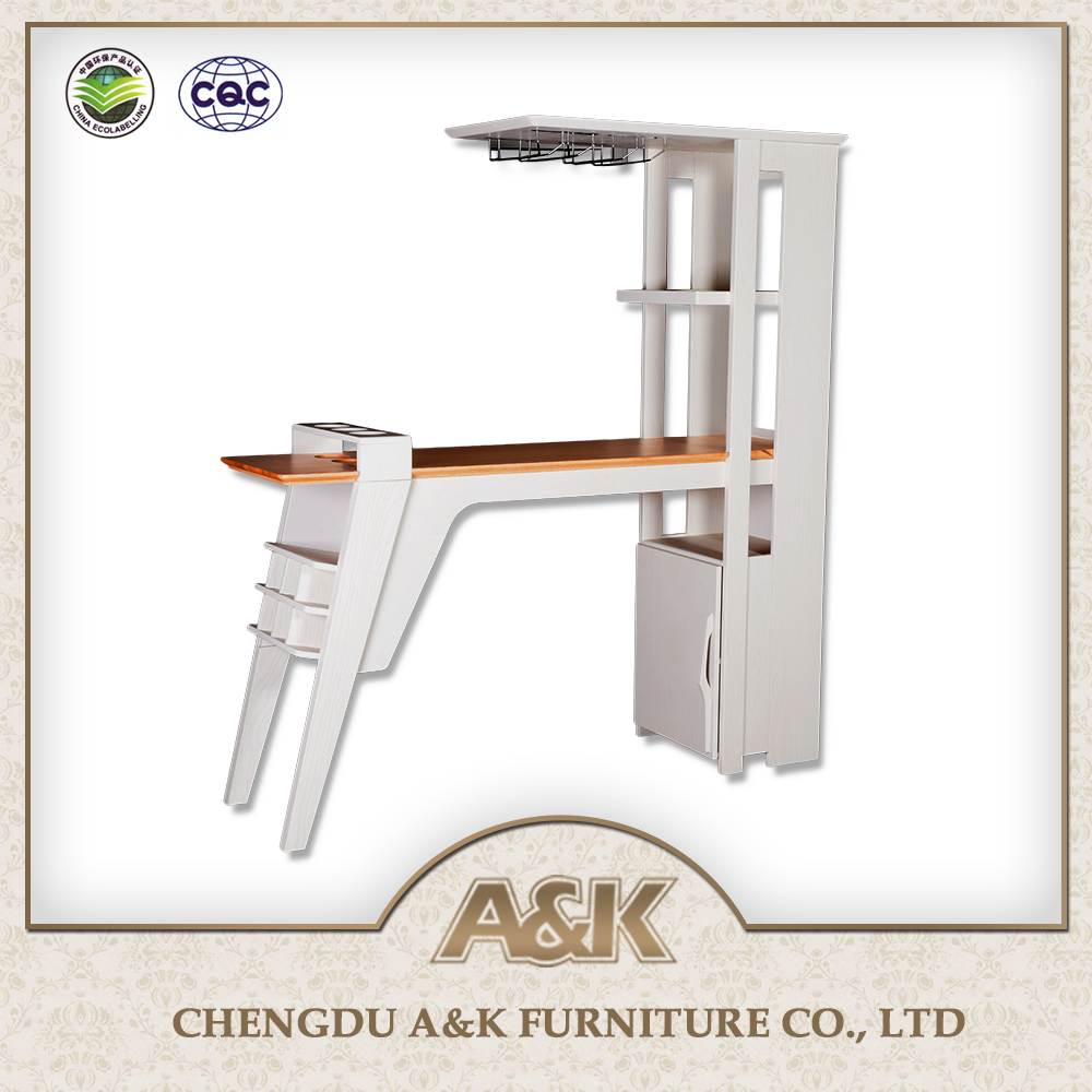Wholesale Furniture Bar Counter Wood Coffee Bar Counter