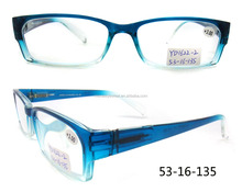 PC Frame Material reading spectacle and transparent Lenses Color lighted reading glasses women
