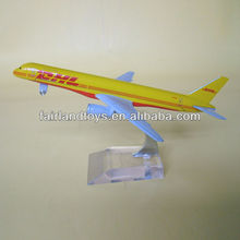 Boeing 757 DHL airplane model,aircraft model,metal model plane