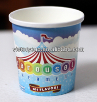 New arrival disposable ice cream containers with paper lids