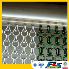 Decorative Aluminum Metal Chain Link Curtain For Window,Chain Fly Screen