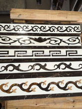 <BOTON>China manufacture waterjet marble border designs for projects