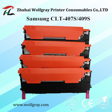 Low price compatible for Samsung CLT-407S CLT-409S toner cartridge