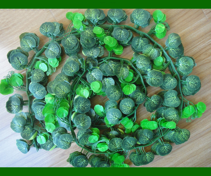 2015 hot seling artificial leaves vine artificial garland for home dec