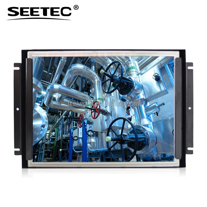 FEELWORLD new design 15 inch 1050 nits open frame outdoor use advertising player video