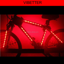 Windmill dimming led bicycle light