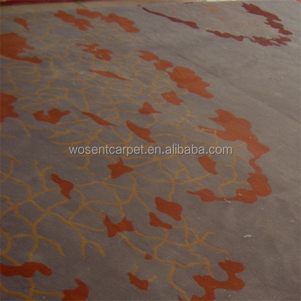 Hand carved PP Acrylic Polyester Nylon loop carpet rugs sculptured rugs and carpets