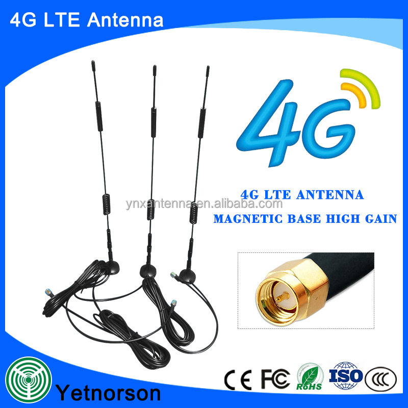 gsm magnetic base antenna for ham, gsm/3g magnetic vihicle antenna