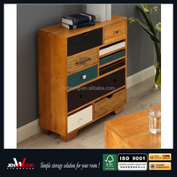 utility Multi-Drawer design floor stand wooden file floor Cabinet