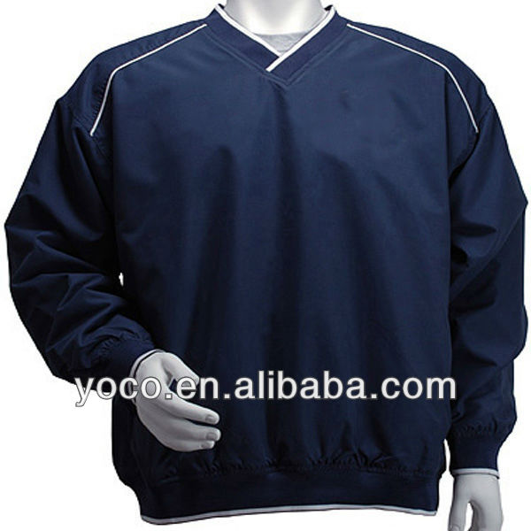 MicroFiber Embroidered Windbreakers with Logo and White Piping and Trim