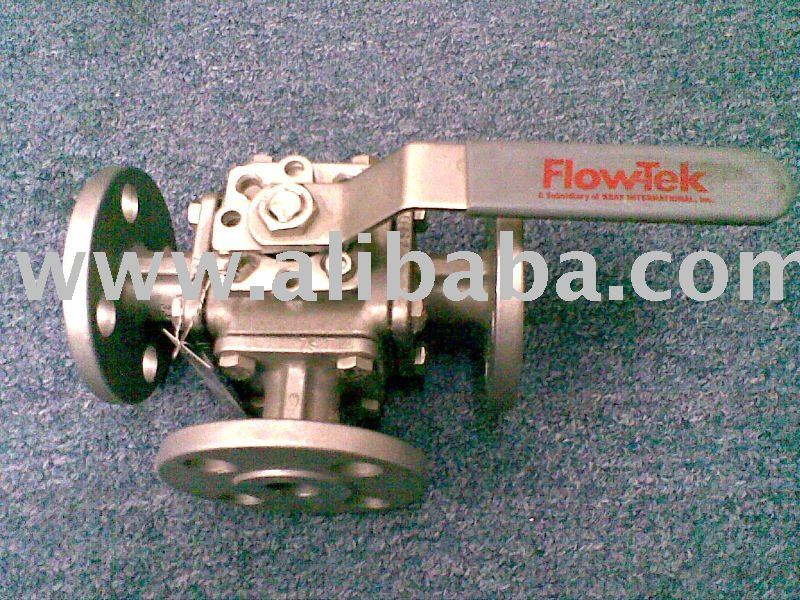 Flow Tek 3 way ball valve